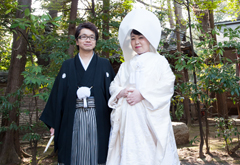 Takaki Kato and Sawako