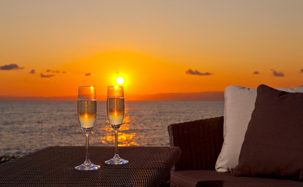 ~ Adult seaside sunset dinner ~