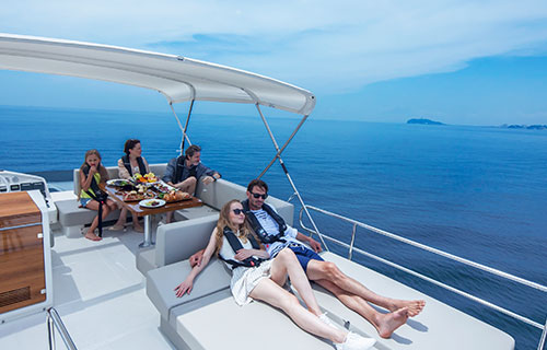 Shonan cruise of superb view to feel the splendor of the sea with your whole body