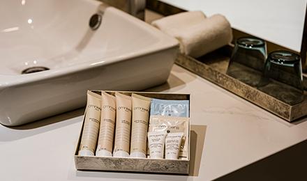 Bath amenities and skin care