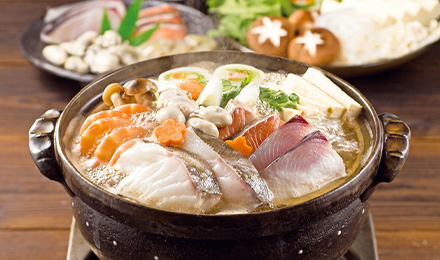 Private stay where you can enjoy Shonan seafood hot pot with evening breakfast room service