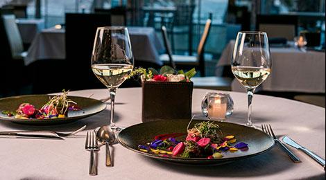 """Dinner at Signature Restaurant """"Ristorante AO"""""""