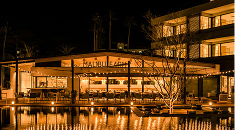 Enjoy a special dinner at Malibu Farm