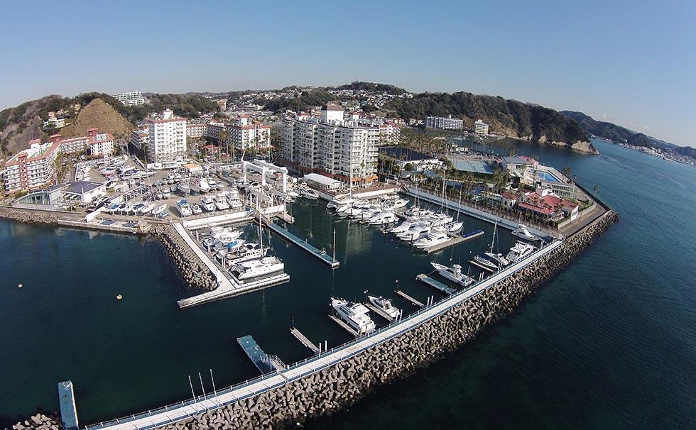 Zushi City, Kanagawa Prefecture Riviera Zushi Marina