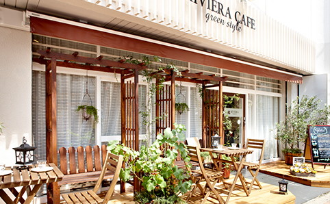 Riviera Cafe Green Style
