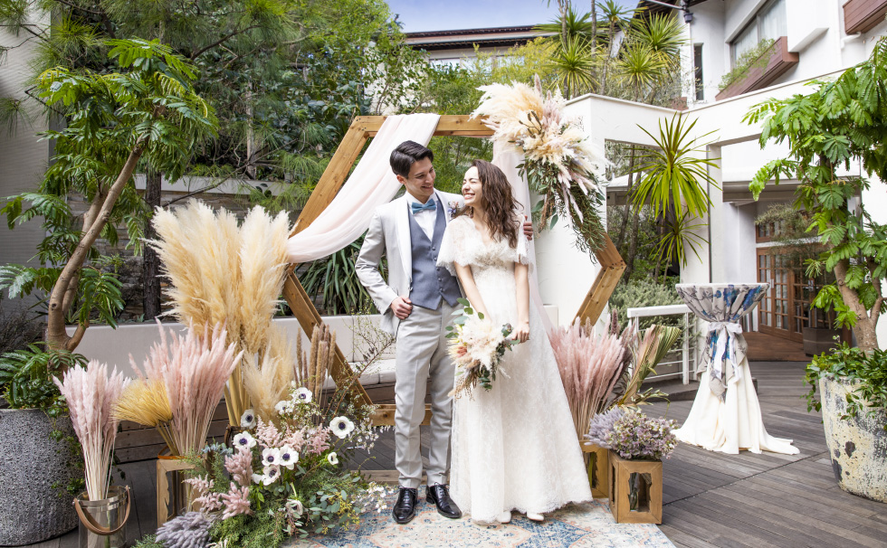<June-August 2021 wedding ceremony only> Summer wedding plan